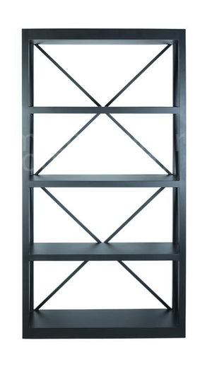 Long Island Bookcase Black L107 X D33 X H205CM