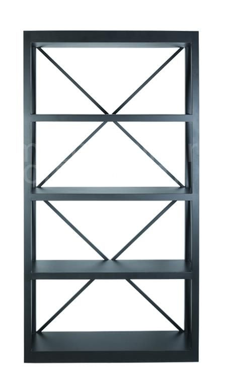 Long Island Bookcase Black