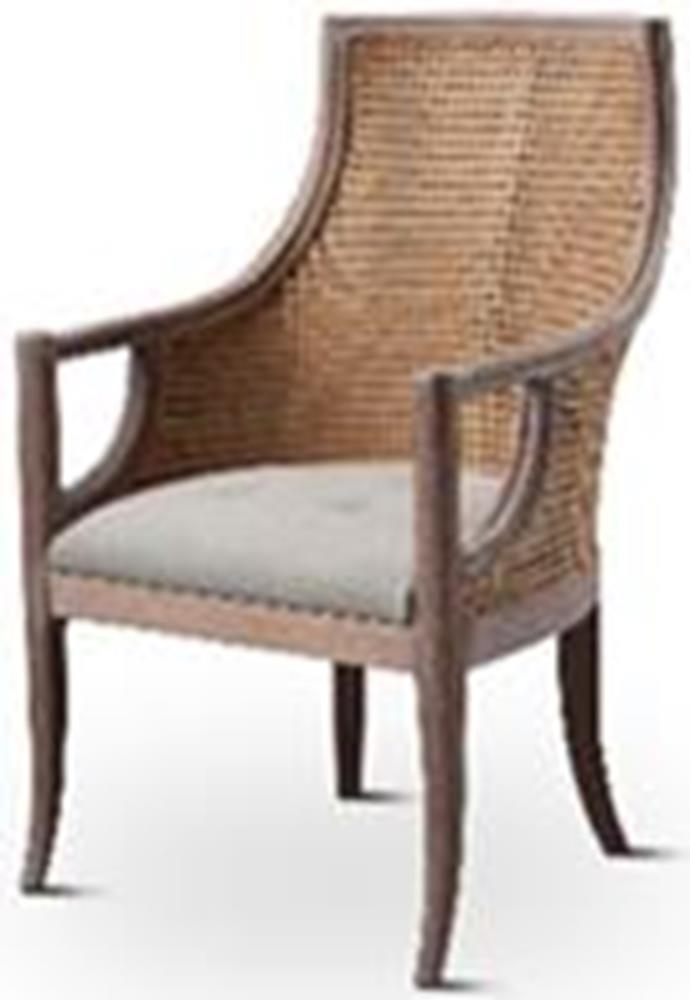 Plantation Mahogany Dining Arm Chair