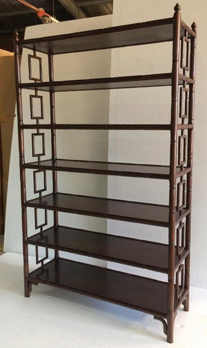 Plantation Mahogany Shelves