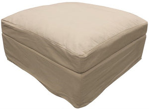 New Haven footstool Natural 90cm