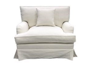 Hampshire Armchair White
