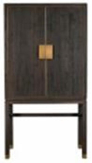 Chicago Recycled Fir and Brass Cabinet