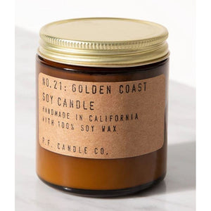 Golden Coast 3.5 oz Soy Candle