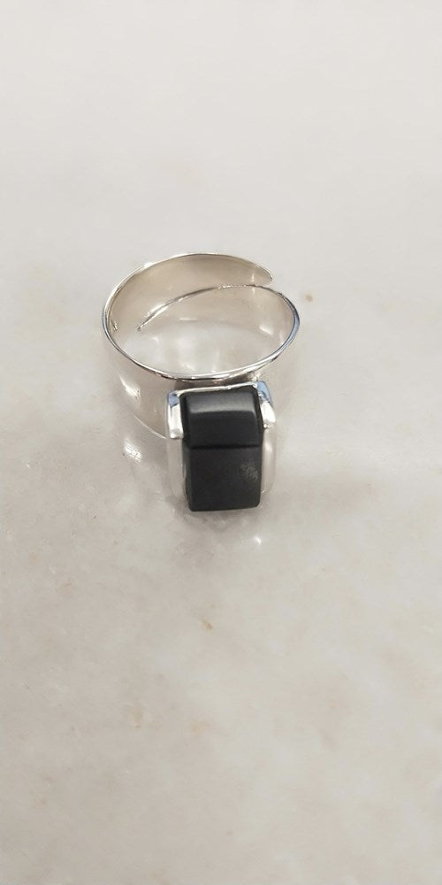 Adjustable Block Ring - Size 7