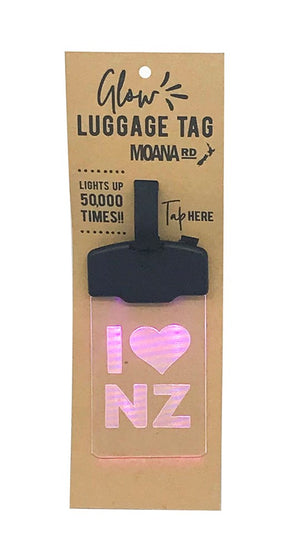 Glow Tag - I heart NZ