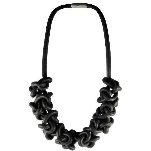 Long Rubber Neckpiece