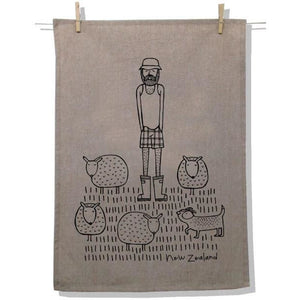 Tea Towel NZ FARMER