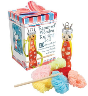 Rapunzel Knitting Doll Kit