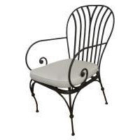 Paris Outdoor Armchair Galvanised Metal 950(h) 490 (w) 510 (d)