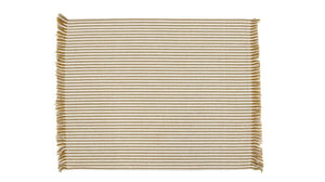 Abby Stripe Placemat S/4 Mustard