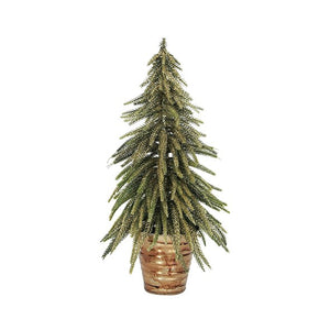 Potted Table Tree Gold Medium 13cmLx13cmWx33cmH