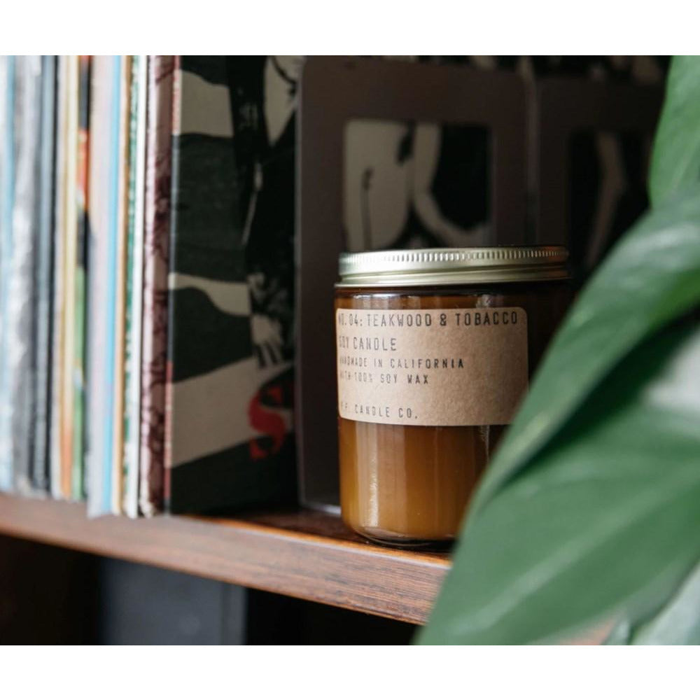 Teakwood & Tobacco 3.5 oz Soy Candle