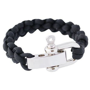 Shackle Cuff Black