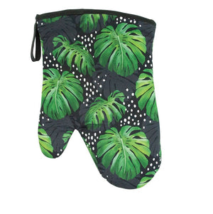 Oven Mit Spotty Monstera Black