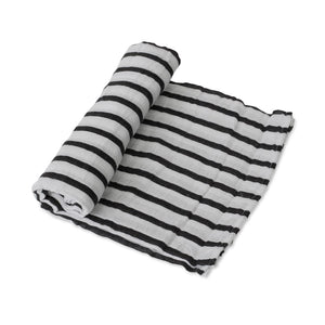 Muslin swaddle - Breton Stripes