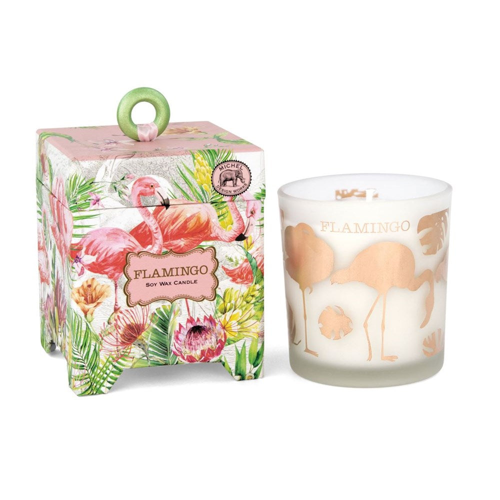 MDW Flamingo Candle