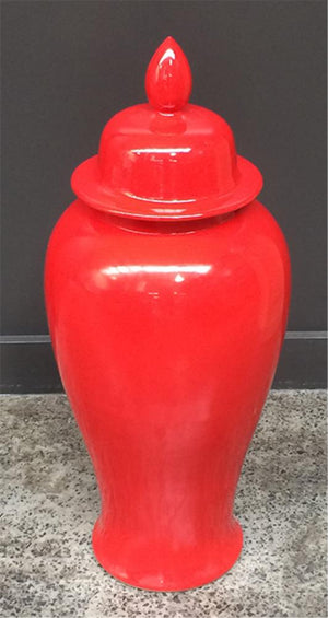 Ginger Jar Red 65H