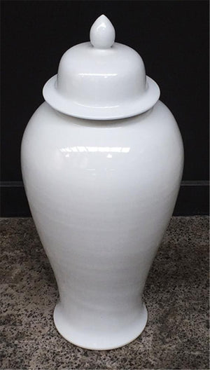 Ginger Jar White 65H