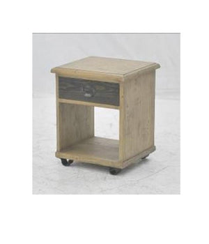 Chicago Side table Mango Iron Br