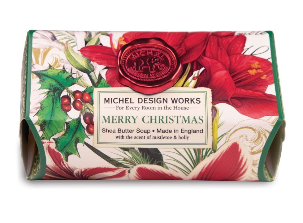 Merry Christmas Large Soap Bar