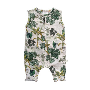 Elijah Romper  Jungle Alley