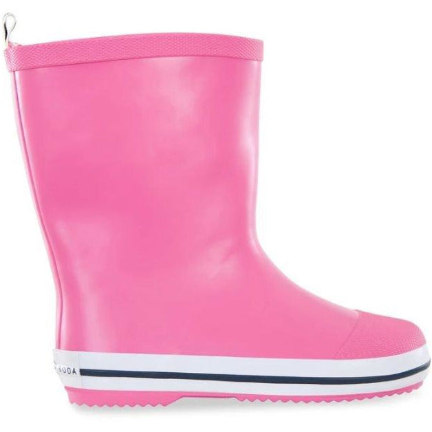 Kids Pink Gumboots Size 22