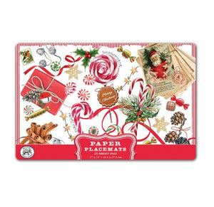 Peppermint Paper Placemats