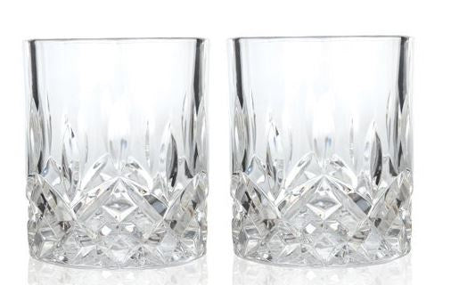 Admiral™ Crystal Tumblers