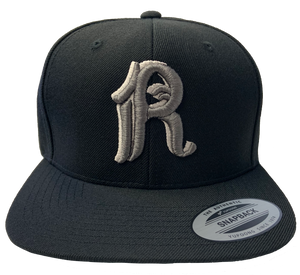 Rebelution R Embroidered Snapback