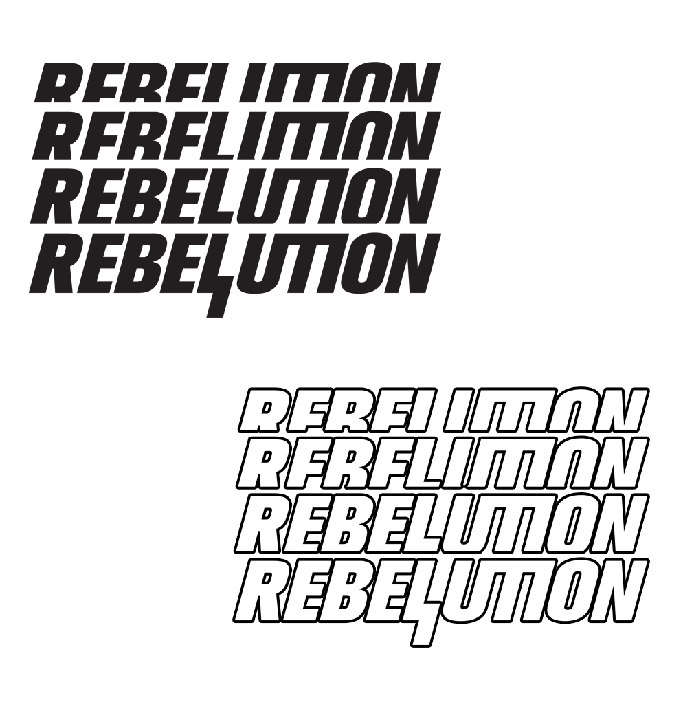 "Repeated Logo Vinyl 3.5"" Decal"