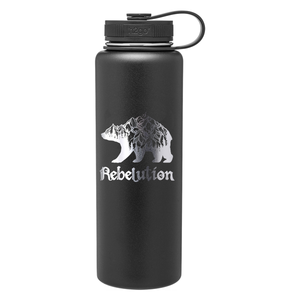 Mountain Bear Stainless Steel Bottle