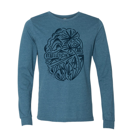 Teal Palm Longsleeve