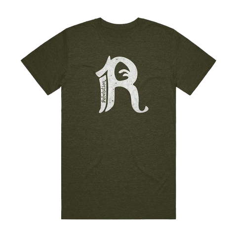 R Text Tee (Green)