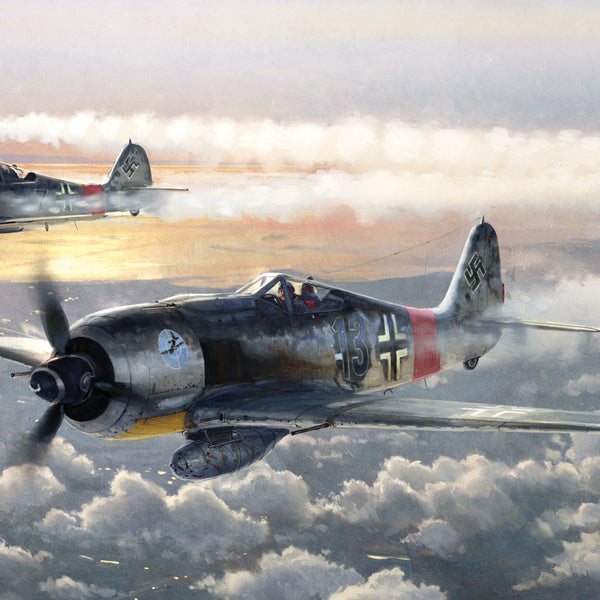 Aviation Painting - SturmGruppe Dahl - Art - The Squawk Shoppe - 1