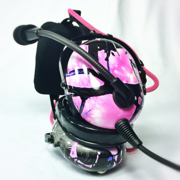Arcus ANR Aviation Headset - Muddy Girl Camo - Wired Active Noise Canceling Aviation Headset - The Squawk Shoppe - 2