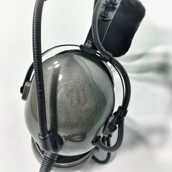 Arcus ANR Aviation Headset - Metallics - Wired Active Noise Canceling Aviation Headset - The Squawk Shoppe - 10