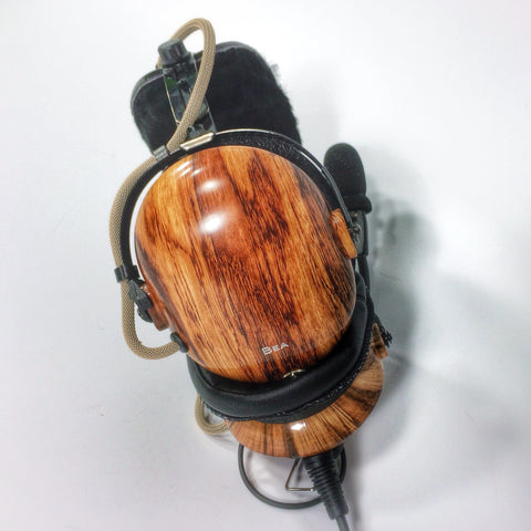 Arcus ANR Aviation Headset - Driftwood - Wired Active Noise Canceling Aviation Headset - The Squawk Shoppe - 1