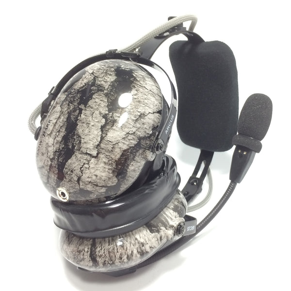 Arcus ANR Aviation Headset - Shadow Bark - Wired Active Noise Canceling Aviation Headset - The Squawk Shoppe - 1