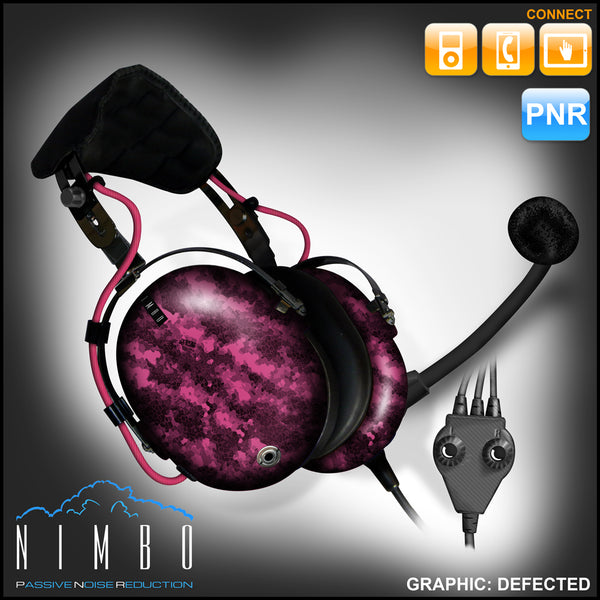 Nimbo PNR Aviation Headset - Defected - Wired Passive Noise Canceling Aviation Headset - The Squawk Shoppe - 9