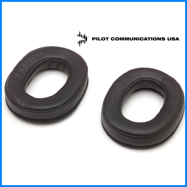 Aviation Headset Earseals - Leatherette