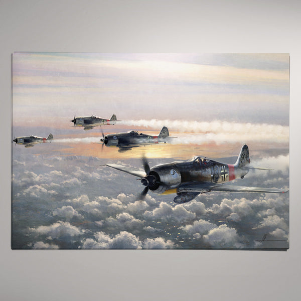 Aviation Painting - SturmGruppe Dahl - Art - The Squawk Shoppe - 2