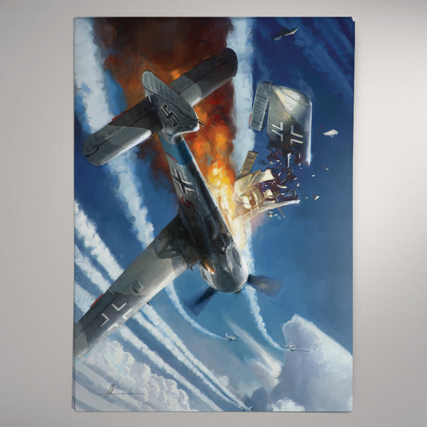 Aviation Painting - Wing Clipped