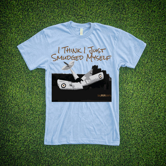 Aviation T-Shirt - Smudged Myself - T-Shirts - The Squawk Shoppe - 3