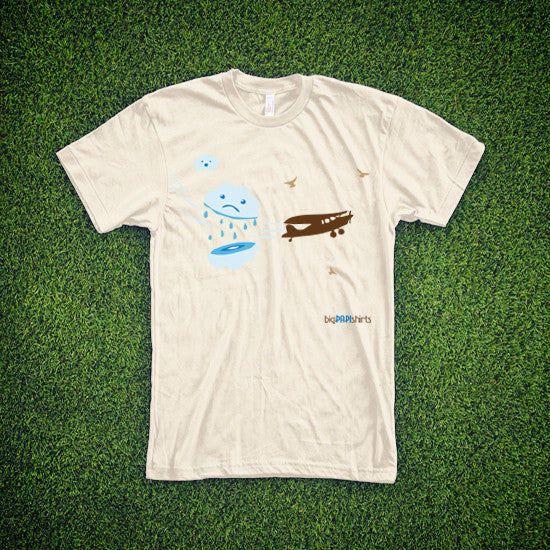 Aviation T-Shirt - Cloud Cutter - T-Shirts - The Squawk Shoppe - 4
