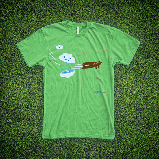 Aviation T-Shirt - Cloud Cutter - T-Shirts - The Squawk Shoppe - 6