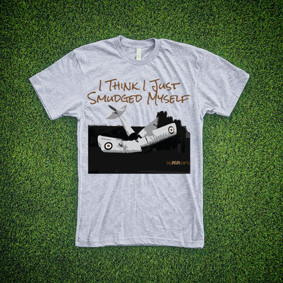 Aviation T-Shirt - Smudged Myself - T-Shirts - The Squawk Shoppe - 6