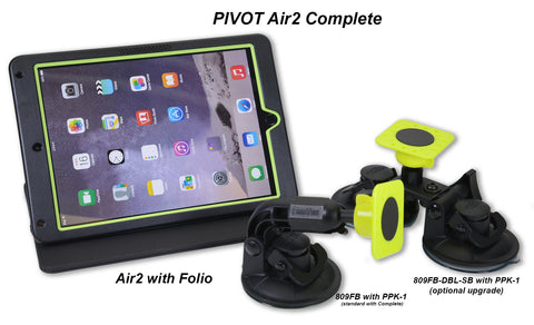 PIVOT Complete Mounting Solution - AIR2 - Aviation Kneeboard - The Squawk Shoppe - 1