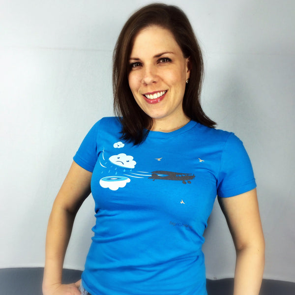 Aviation T-Shirt - Cloud Cutter - T-Shirts - The Squawk Shoppe - 12