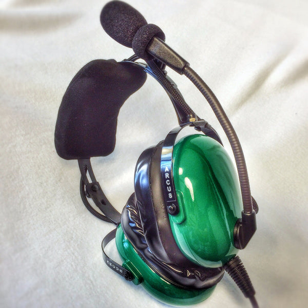 Arcus ANR Aviation Headset - Original Colors - Wired Active Noise Canceling Aviation Headset - The Squawk Shoppe - 11